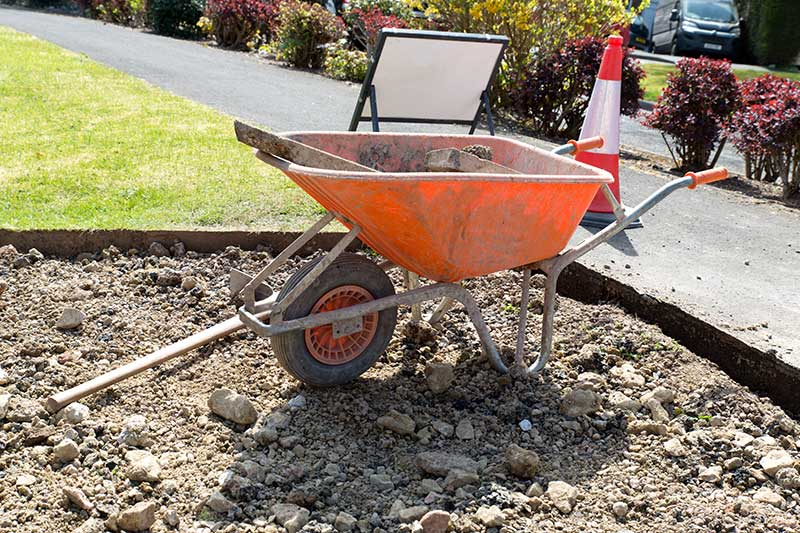 Digging Your Driveway