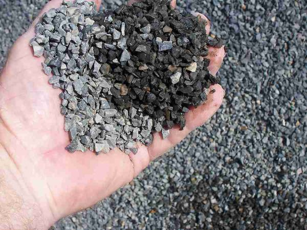 Why we use aggregates in concrete?